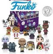 FUNKO Mystery Mini: Disney - Villains  (One Figure Per Purchase)