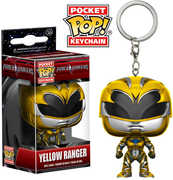 FUNKO POCKET POP! KEYCHAIN: Power Rangers - Yellow Ranger
