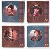 Outlander 4 Piece Ceramic Coaster Set