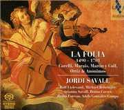 Folia 1490-1701 , Jordi Savall