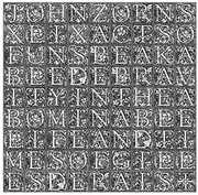 49 Acts Of Unspeakable Depravity In The Abominable , John Zorn