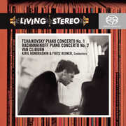 Piano Concerto No 1 /  Piano Concerto No 2 , Van Cliburn
