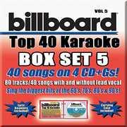Party Tyme Karaoke: Billboard Top 40 Karaoke, Vol. 5 , Various Artists