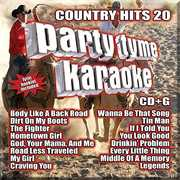 Party Tyme Karaoke: Country Hits 20 , Various Artists