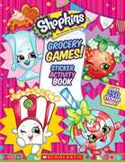 Grocery Games! Jumbo Sticker Activity Book (Shopkins)
