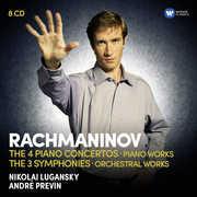 Piano Concertos /  Symphonies Rhapsody on a Theme , Nikolai Lugansky