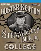 Steamboat Bill Jr. /  College , Buster Keaton
