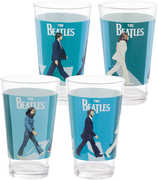 Beatles Abbey Road 4 pc. 16 oz. Glass Set