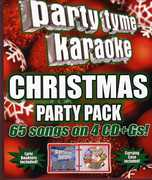 Party Tyme Karaoke: Christmas Party Pack [65-Song Party Pack] , Various Artists