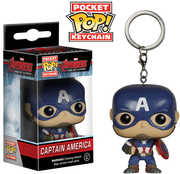 FUNKO POCKET POP! KEYCHAIN: Marvel - Avengers 2 - Captain America