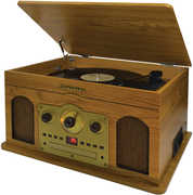 Studebaker 5 in 1 Music System -Turntable AM/ FM Radio CD Cassette and