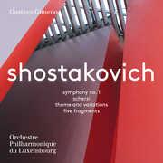 Dmitri Shostakovich: Symphony No. 1, Scherzi, Theme & Variations