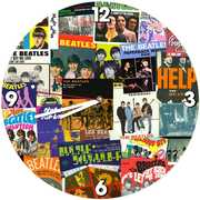 The Beatles 13.5 Inch Cordless Wall Clock