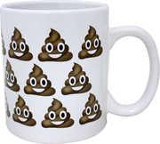 Poop Emoji Mug (16oz)