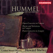 Piano Concerto in a & in F /  Theme & Variations , Howard Shelley