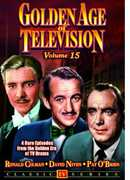 Golden Age of Television: Volume 15 , Ronald Colman