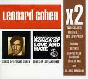 X2: Songs of Love & Hate /  Songs of Leonard Cohen , Leonard Cohen
