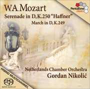 Serenade in D KV 250 Haffner March in D KV 249 , Gordan Nikolic
