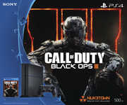Sony PlayStation 4 500GB Console: Black - Call of Duty Black Ops III Bundle