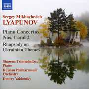 Piano Ctos 1 & 2 /  Rhapsody on Ukrainian Themes , Shorena Tsintsabadze