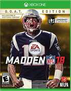 Madden NFL 18 - G.O.A.T. Edition for Xbox One