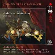 Bach,j.s: Goldberg Variations , Aulos Quartet