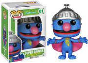 FUNKO POP! TELEVISION: Sesame Street - Super Grover