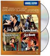 TCM Greatest Classic Legends Film Collection: Errol Flynn , Errol Flynn