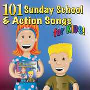 101 Sunday School & Actions Songs for Kids /  Various , Mansion Entertainment
