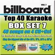 Party Tyme Karaoke: Billboard Top 40 Karaoke Box Set 7