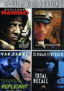 Rambo /  Legionnaire /  Replicant /  Total Recall , Arnold Schwarzenegger