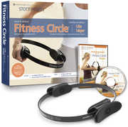 STOTT PILATES Fitness Circle Lite (14 inch /  35.5 cm) Kit with DVD
