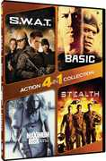 4 in 1 Action Collection: S.W.A.T. /  Basic /  Maximum Risk /  Stealth , Alfred Cheung