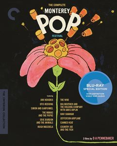 CRITERION COLLECTION: The Complete Monterey Pop Festival , The Jimi Hendrix Experience