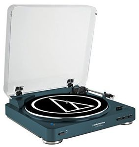 Audio Technica ATLP60NVBT Bluetooth Turntable Navy