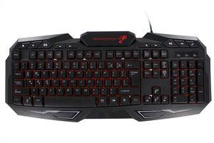 TekNmotion Nibiru Multi-Color Backlit Gaming Keyboard