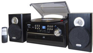 Jensen JTA-475 Turntable (CD/ Cassette, AM/ FM)