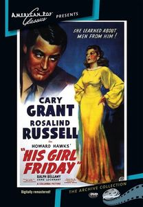 His Girl Friday , Clarence Kolb