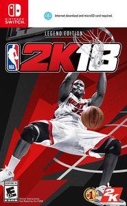NBA 2K18: Legend Edition for Nintendo Switch