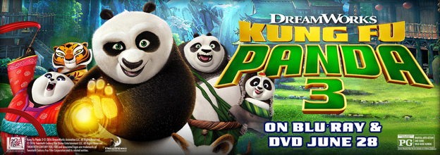 Kung Fu Panda on DVD and Blu-ray Order Today