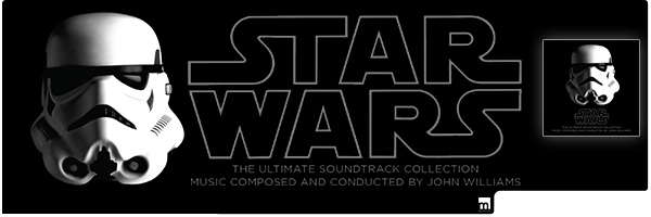 WILLIAMS,JOHN (W/DVD) / STAR WARS: THE ULTIMATE SOUNDTRACK COLLECTION