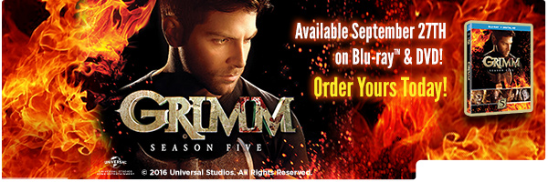 GRIMM: SEASON FIVE (5PC) / (BOX SLIP SNAP)