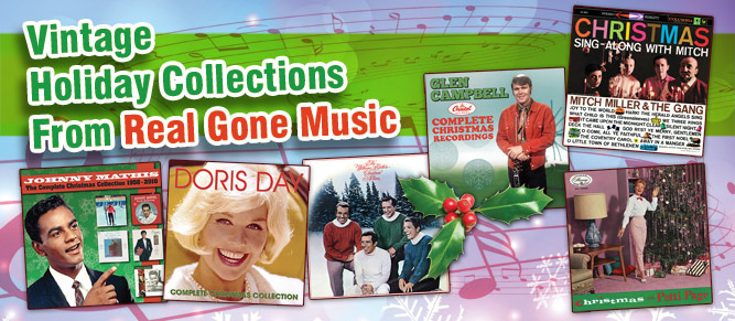 Happy Holidays from Real Gone Music