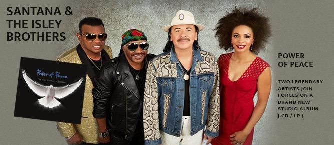 Santana The Isley Brothers Tour