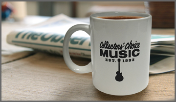 New Collectors' Choice Music Coffee Mug! Available now!