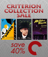 Save 40% on The Criterion Collection