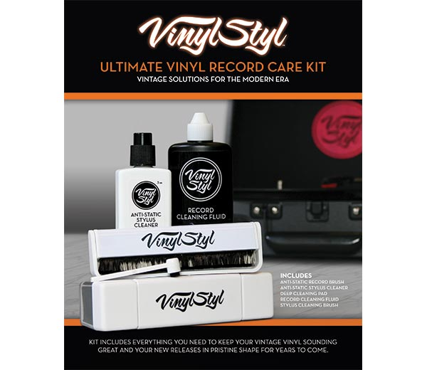 Vinyl Styl Ultimate Record Care Kit Vs A 009 Accessories
