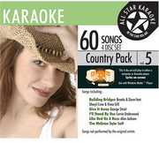 Karaoke: Country Pack 5