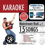 Karaoke: Mainstream Rock 1 /  Various
