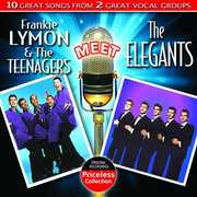Frankie Lymon & Teenagers Meet the Elegants